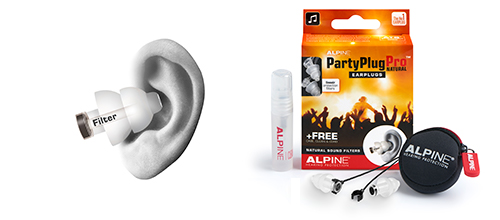 Alpine Gehoorbescherming - PartyPlugPro Natural