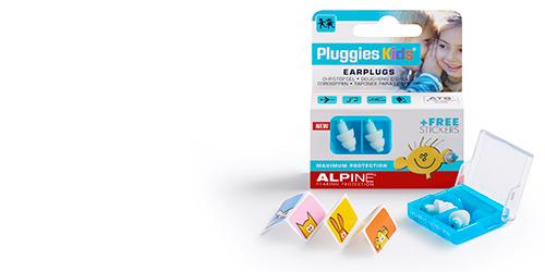 Alpine Gehoorbescherming - Pluggies Kids